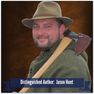 Distinguished Author Jason Hunt