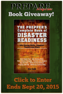 Enter for Your Chance to Win - Disaster Preparedness Giveaway