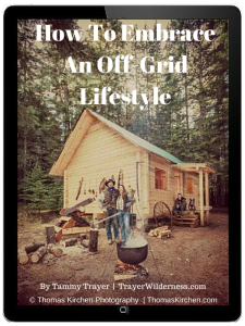How To Embrace An Off-Grid Lifestyle Cover 600 x 800